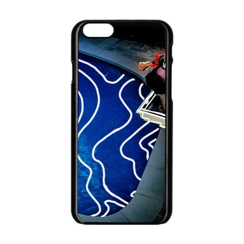 Panic! At The Disco Released Death Of A Bachelor Apple iPhone 6/6S Black Enamel Case