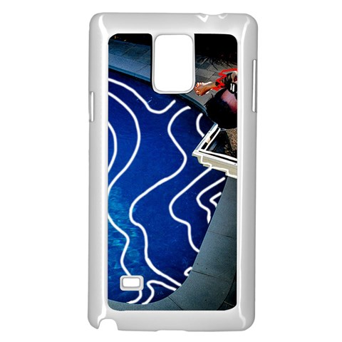 Panic! At The Disco Released Death Of A Bachelor Samsung Galaxy Note 4 Case (White)