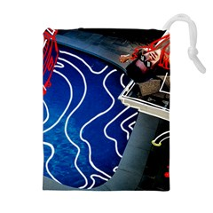 Panic! At The Disco Released Death Of A Bachelor Drawstring Pouches (extra Large)