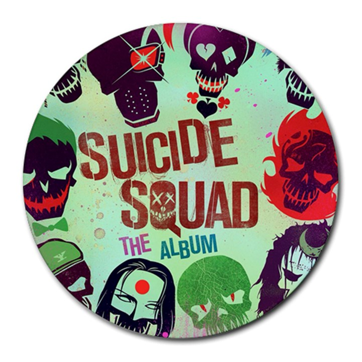 Panic! At The Disco Suicide Squad The Album Round Mousepads