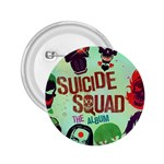 Panic! At The Disco Suicide Squad The Album 2.25  Buttons Front