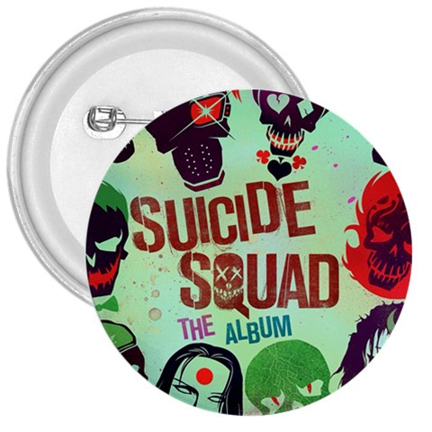 Panic! At The Disco Suicide Squad The Album 3  Buttons