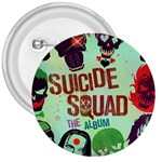 Panic! At The Disco Suicide Squad The Album 3  Buttons Front