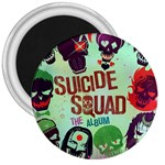 Panic! At The Disco Suicide Squad The Album 3  Magnets Front