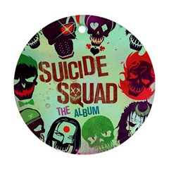 Panic! At The Disco Suicide Squad The Album Ornament (Round)