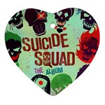 Panic! At The Disco Suicide Squad The Album Ornament (Heart)  Front