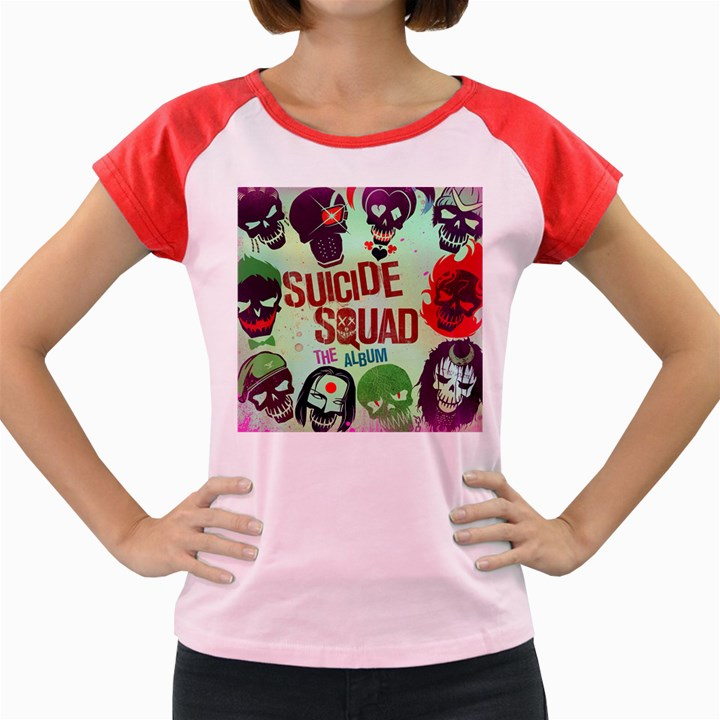 Panic! At The Disco Suicide Squad The Album Women s Cap Sleeve T-Shirt