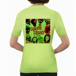 Panic! At The Disco Suicide Squad The Album Women s Green T-Shirt Back