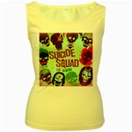Panic! At The Disco Suicide Squad The Album Women s Yellow Tank Top Front