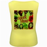 Panic! At The Disco Suicide Squad The Album Women s Yellow Tank Top Back