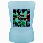 Panic! At The Disco Suicide Squad The Album Women s Baby Blue Tank Top Back