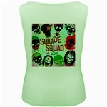 Panic! At The Disco Suicide Squad The Album Women s Green Tank Top Back