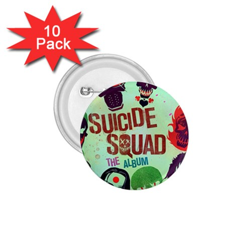 Panic! At The Disco Suicide Squad The Album 1.75  Buttons (10 pack)