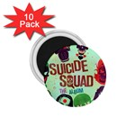 Panic! At The Disco Suicide Squad The Album 1.75  Magnets (10 pack)  Front