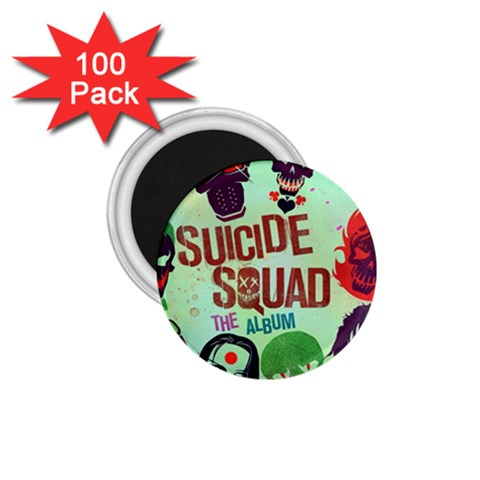 Panic! At The Disco Suicide Squad The Album 1.75  Magnets (100 pack)