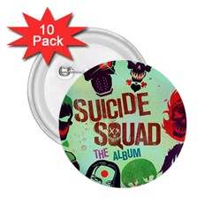 Panic! At The Disco Suicide Squad The Album 2 25  Buttons (10 Pack)