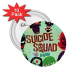 Panic! At The Disco Suicide Squad The Album 2.25  Buttons (10 pack)  Front