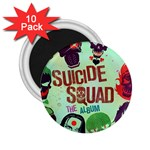 Panic! At The Disco Suicide Squad The Album 2.25  Magnets (10 pack)  Front