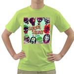 Panic! At The Disco Suicide Squad The Album Green T-Shirt Front