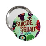 Panic! At The Disco Suicide Squad The Album 2.25  Handbag Mirrors Front