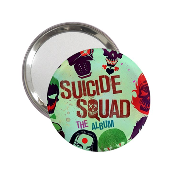 Panic! At The Disco Suicide Squad The Album 2.25  Handbag Mirrors