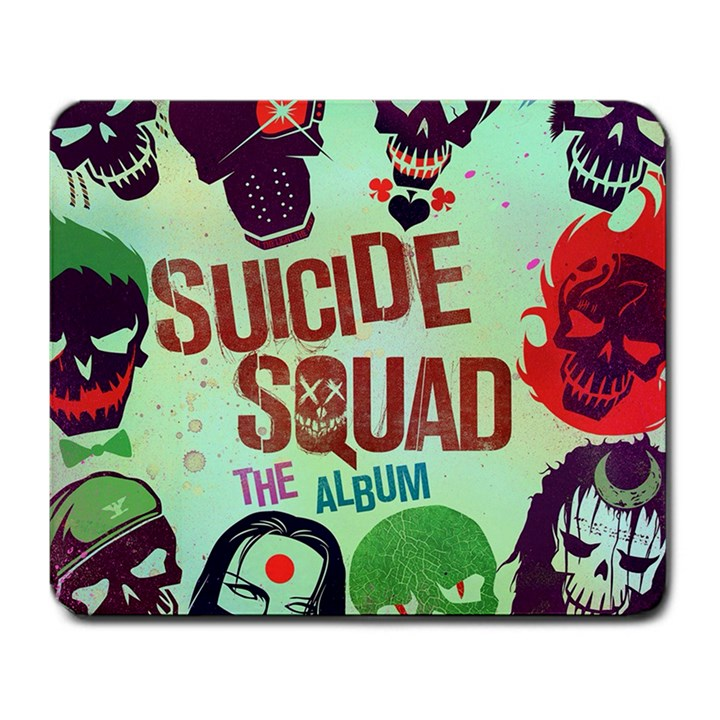 Panic! At The Disco Suicide Squad The Album Large Mousepads