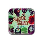 Panic! At The Disco Suicide Squad The Album Rubber Square Coaster (4 pack)  Front