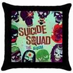 Panic! At The Disco Suicide Squad The Album Throw Pillow Case (Black) Front