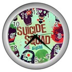 Panic! At The Disco Suicide Squad The Album Wall Clocks (Silver)  Front