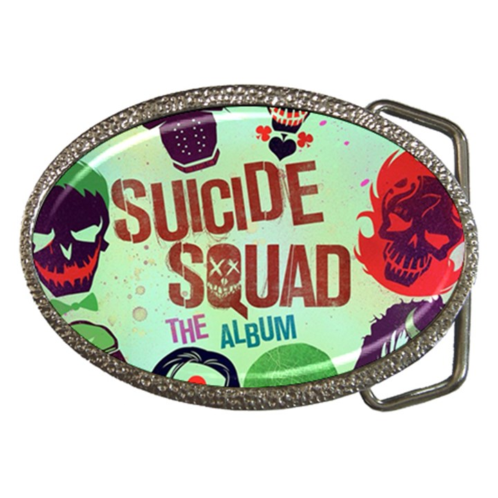 Panic! At The Disco Suicide Squad The Album Belt Buckles