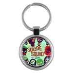 Panic! At The Disco Suicide Squad The Album Key Chains (Round)  Front