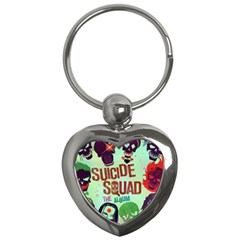 Panic! At The Disco Suicide Squad The Album Key Chains (Heart)