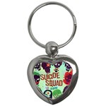 Panic! At The Disco Suicide Squad The Album Key Chains (Heart)  Front
