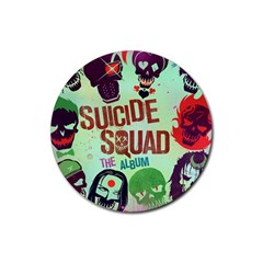 Panic! At The Disco Suicide Squad The Album Rubber Coaster (round)