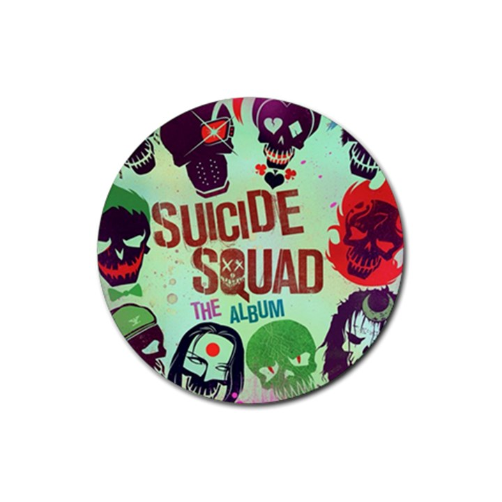 Panic! At The Disco Suicide Squad The Album Rubber Round Coaster (4 pack)