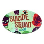 Panic! At The Disco Suicide Squad The Album Oval Magnet Front