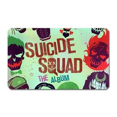 Panic! At The Disco Suicide Squad The Album Magnet (Rectangular)