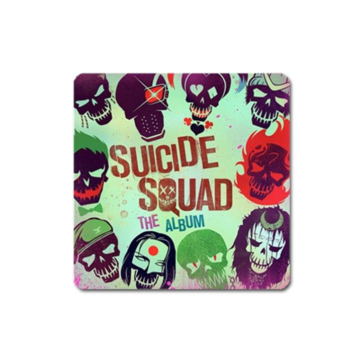 Panic! At The Disco Suicide Squad The Album Square Magnet