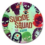 Panic! At The Disco Suicide Squad The Album Magnet 5  (Round) Front