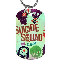 Panic! At The Disco Suicide Squad The Album Dog Tag (one Side)