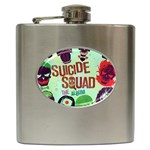 Panic! At The Disco Suicide Squad The Album Hip Flask (6 oz) Front