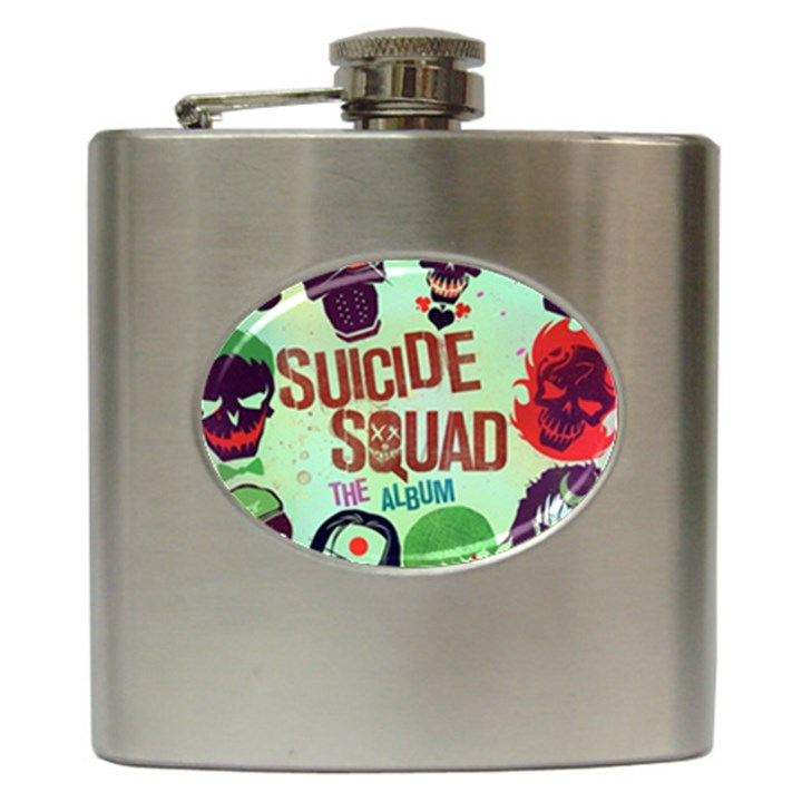 Panic! At The Disco Suicide Squad The Album Hip Flask (6 oz)