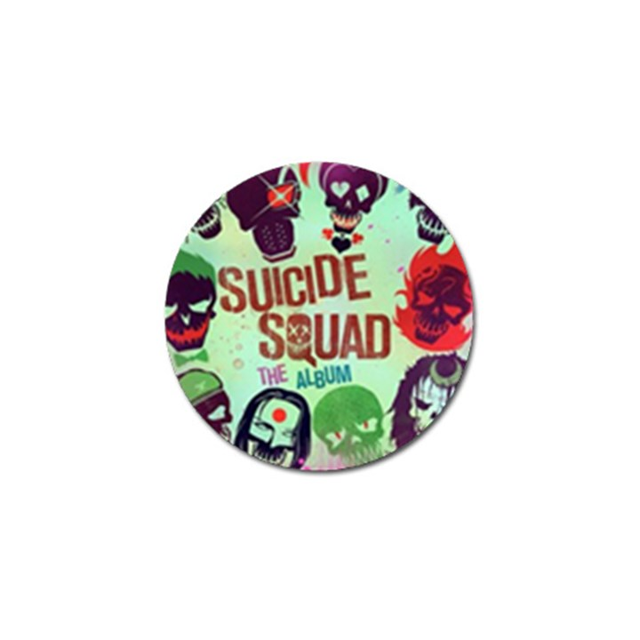 Panic! At The Disco Suicide Squad The Album Golf Ball Marker (4 pack)