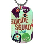 Panic! At The Disco Suicide Squad The Album Dog Tag (Two Sides) Front