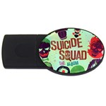 Panic! At The Disco Suicide Squad The Album USB Flash Drive Oval (1 GB)  Front