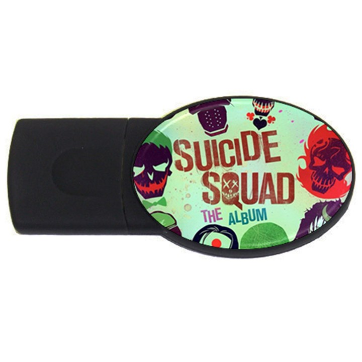 Panic! At The Disco Suicide Squad The Album USB Flash Drive Oval (1 GB)