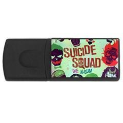 Panic! At The Disco Suicide Squad The Album USB Flash Drive Rectangular (2 GB)