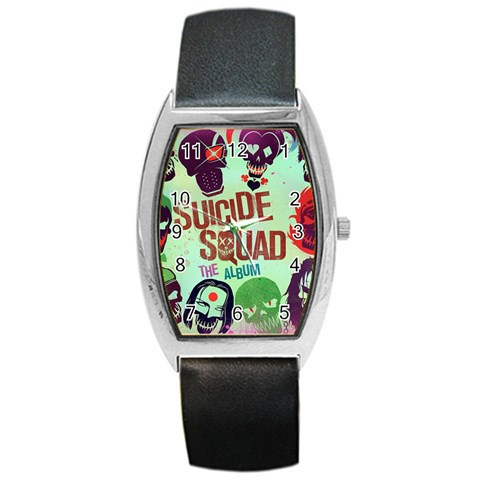 Panic! At The Disco Suicide Squad The Album Barrel Style Metal Watch