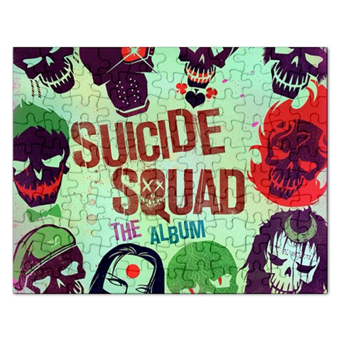 Panic! At The Disco Suicide Squad The Album Rectangular Jigsaw Puzzl