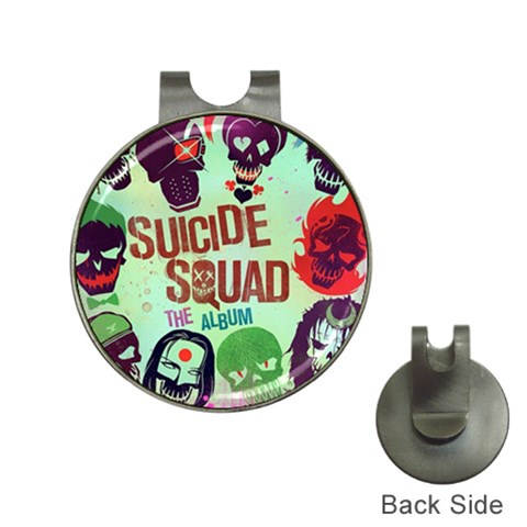 Panic! At The Disco Suicide Squad The Album Hat Clips with Golf Markers
